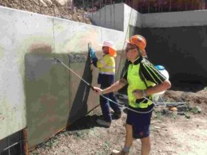 Shotcrete wall
