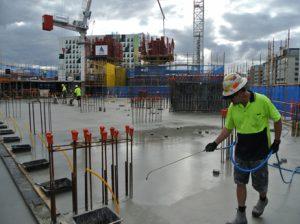 Concrete Waterproofing - Uni Lodge